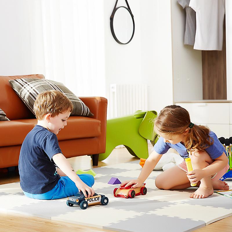 余姚泡沫地垫宝宝拼图地垫塑料泡沫地板垫子30*30防滑环保36片/包